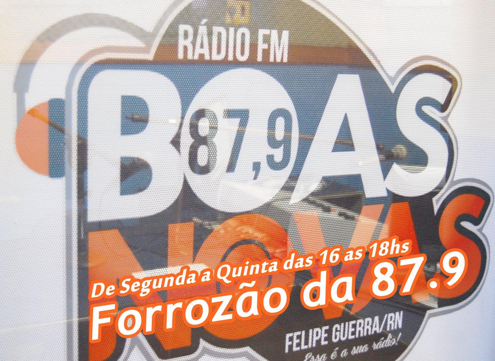 Ouça na Boas Novas 87,9 FM