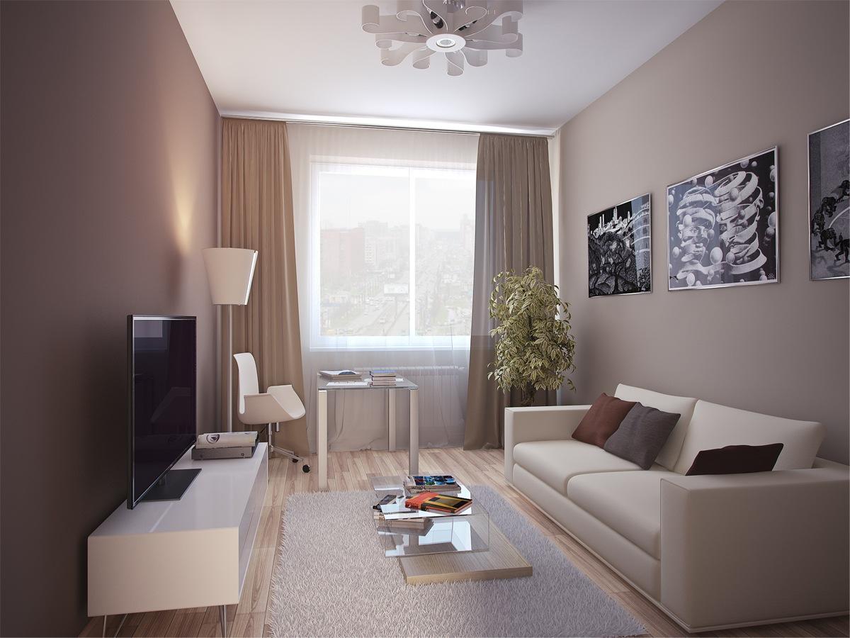 Варианты отделки однокомнатной квартиры фото