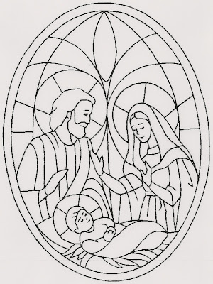 Educar con Jesús: Vidrieras de Navidad (I)
