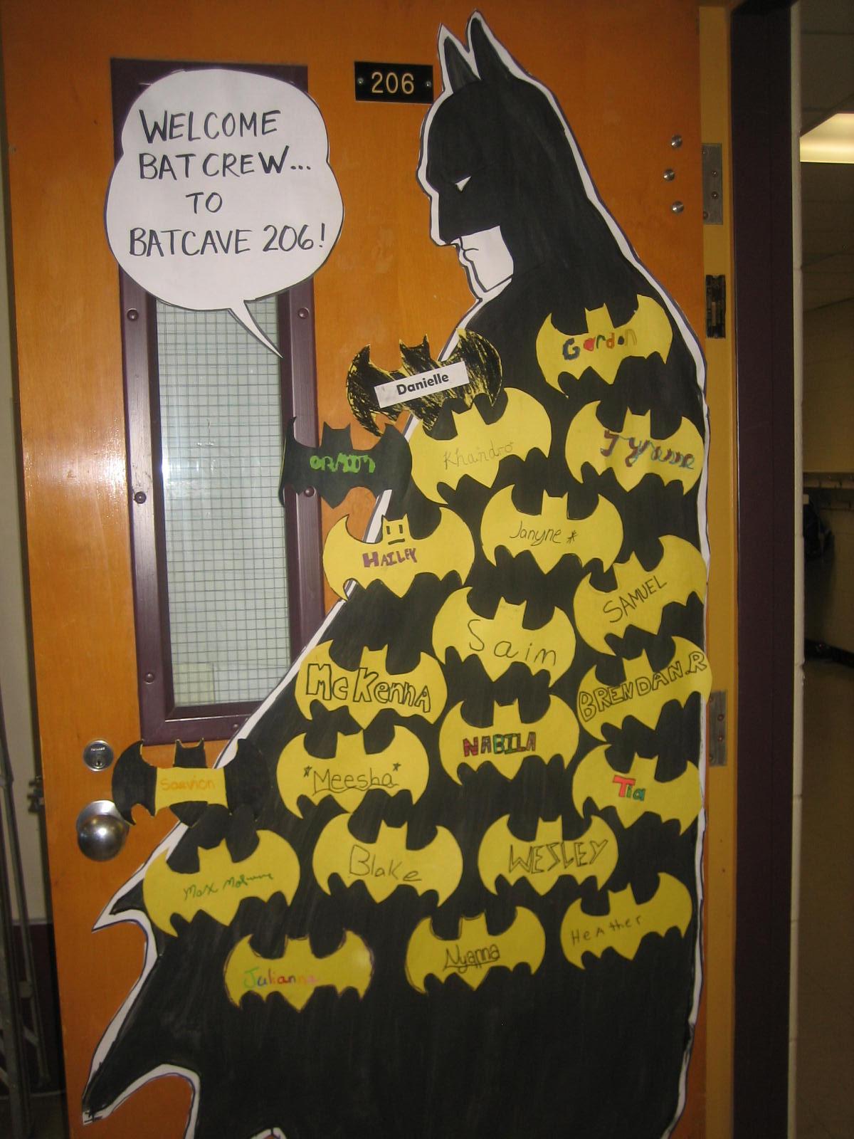Superhero Classroom Decoration Ideas ~ Bat crew of room welcome to the s