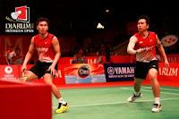 Djarum Indonesia Open 2013, Ganda Putra Indonesia Juara