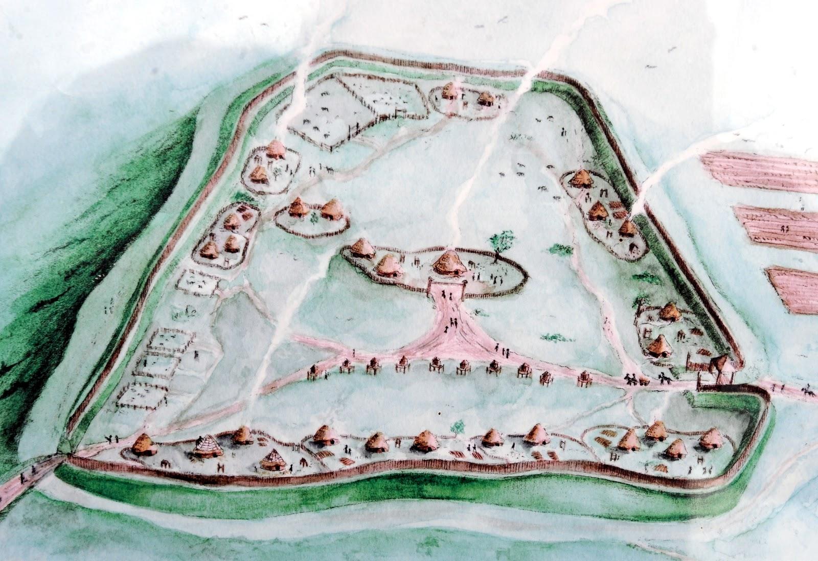 Burrough Hill settlement