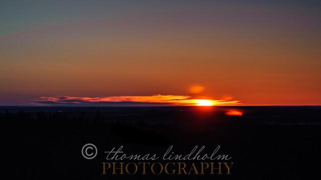 Landskap soluppgång