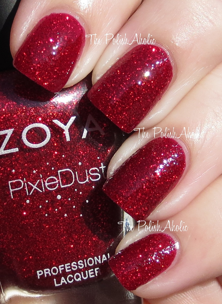 the polishaholic zoya pixiedust collection swatches