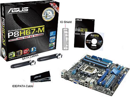 Asus P8H67-M - LGA 1155 - Intel H67 Motherboard