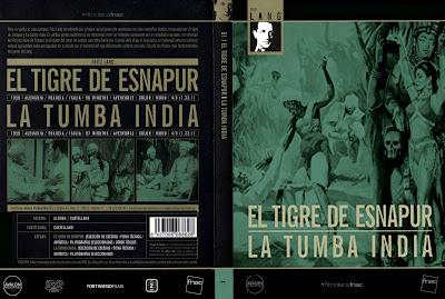 El tigre de Esnapur 1959 | Caratula