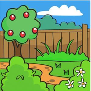 Dibujos para colorear de una casa con jardin ideas for Jardin dibujo