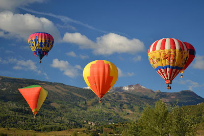 Hot Air Balloon Festival 2011 In Snowmass Colorado