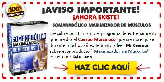 Banner somanabólico maximizador de músculos