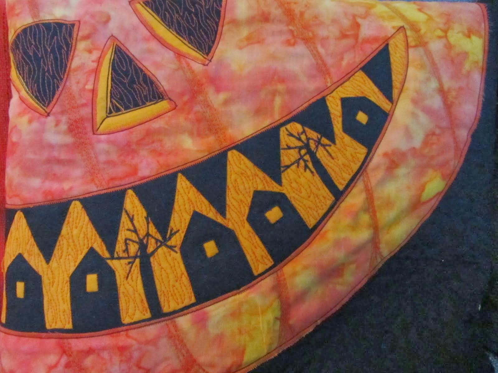 make a pumpkin pillow