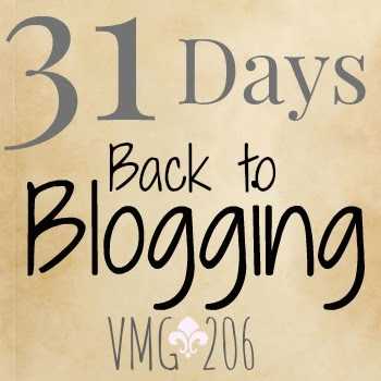 Check out 31 Days Back to Blogging