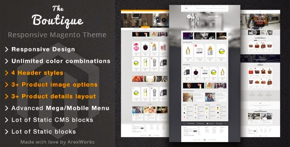 Fashion Magento Responsive Theme