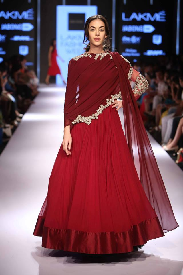 Ridhi Mehra Lakmé Fashion week a/w 2015