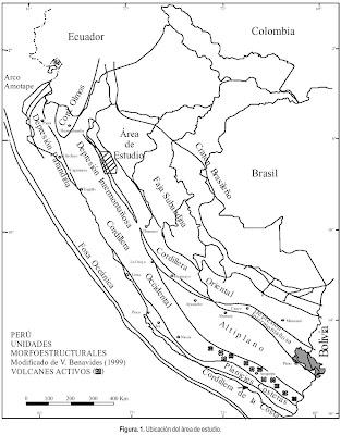 Mapa de PERU para pintar