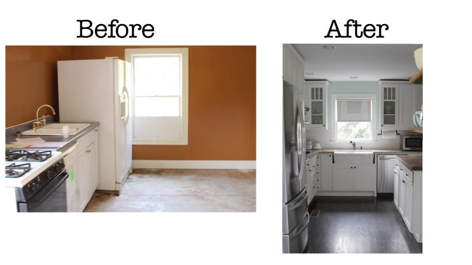 Fixer upper before and after before and after in whittier