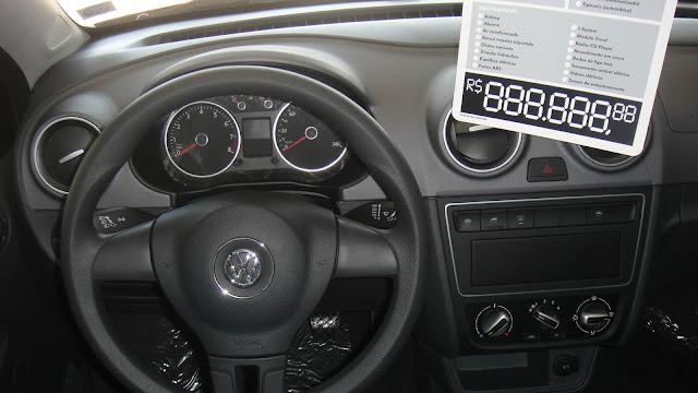 Novo Gol G6 2013 - interior