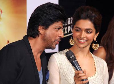 Shahrukh, Rohit & Deepika Padukone @ Chennai Express Trailer Launch-3