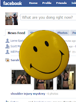 add facebook smilies on facebook comments , Facebook happy