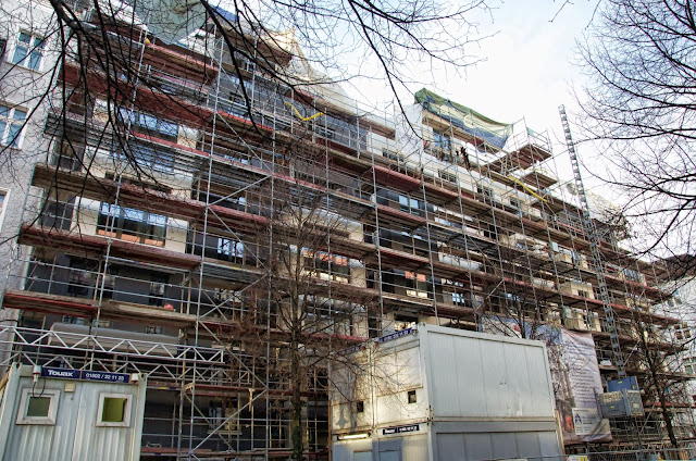 Baustelle CityCubus25, Dolziger Straße 25/26, Voigtstraße, 10247 Berlin, 07.01.2014