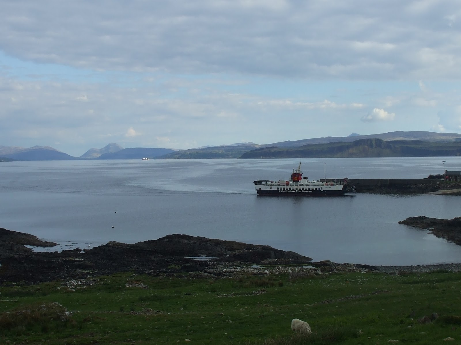 calmac ferry at kilchoan june 2013 sea penguin