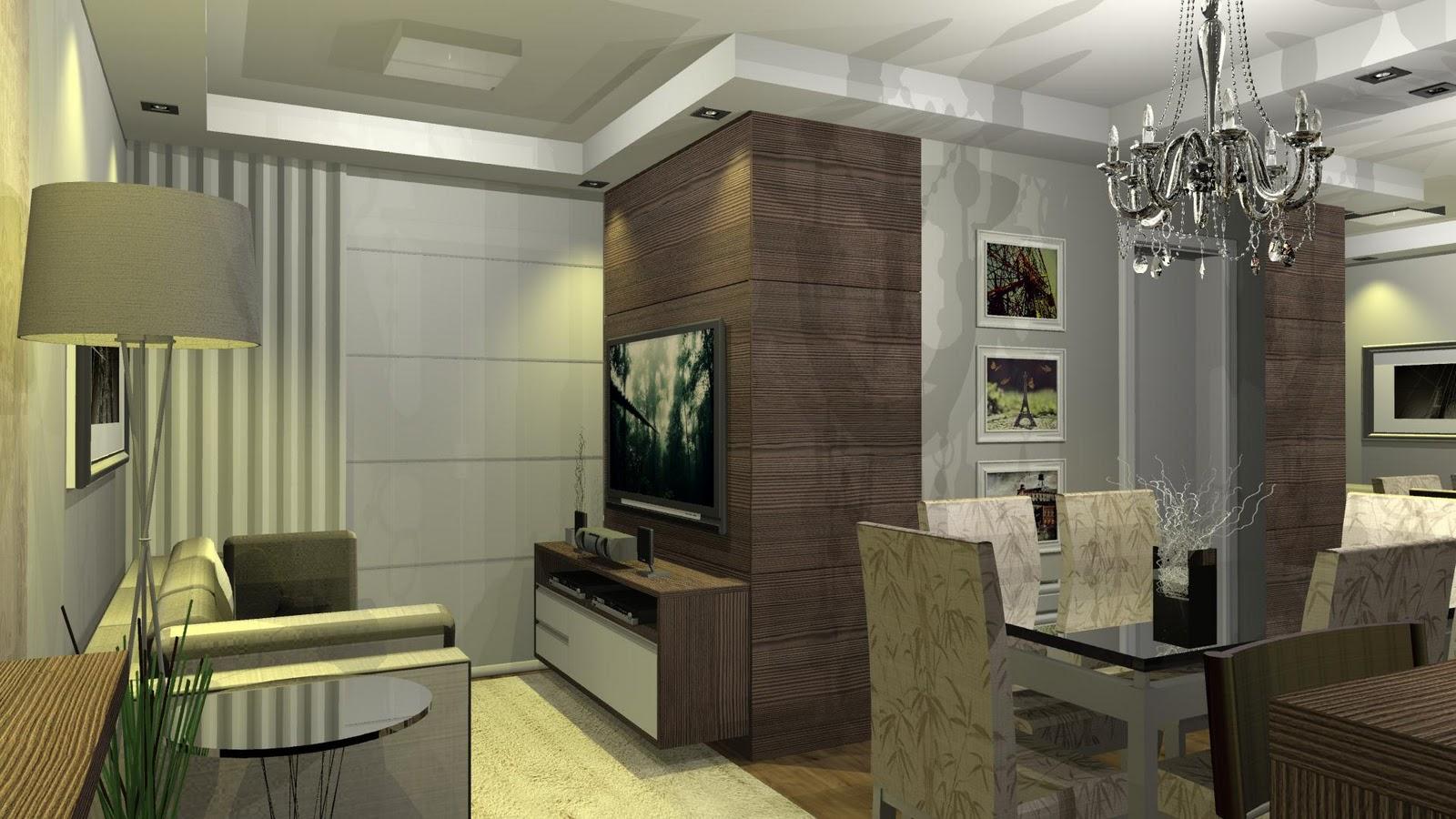 decoracao de ambientes pequenos e integrados : decoracao de ambientes pequenos e integrados:designER Tiago Gelatti: Ambientes Integrados – Pequenos espaços