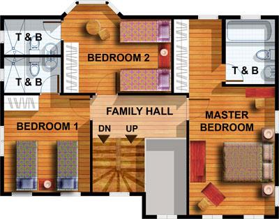 Aspen Model House Features: