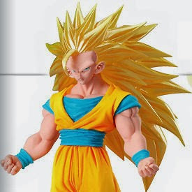 DRAGONBALL DG Digital Grade SP1 SS3 Goku ANIME FIGURE