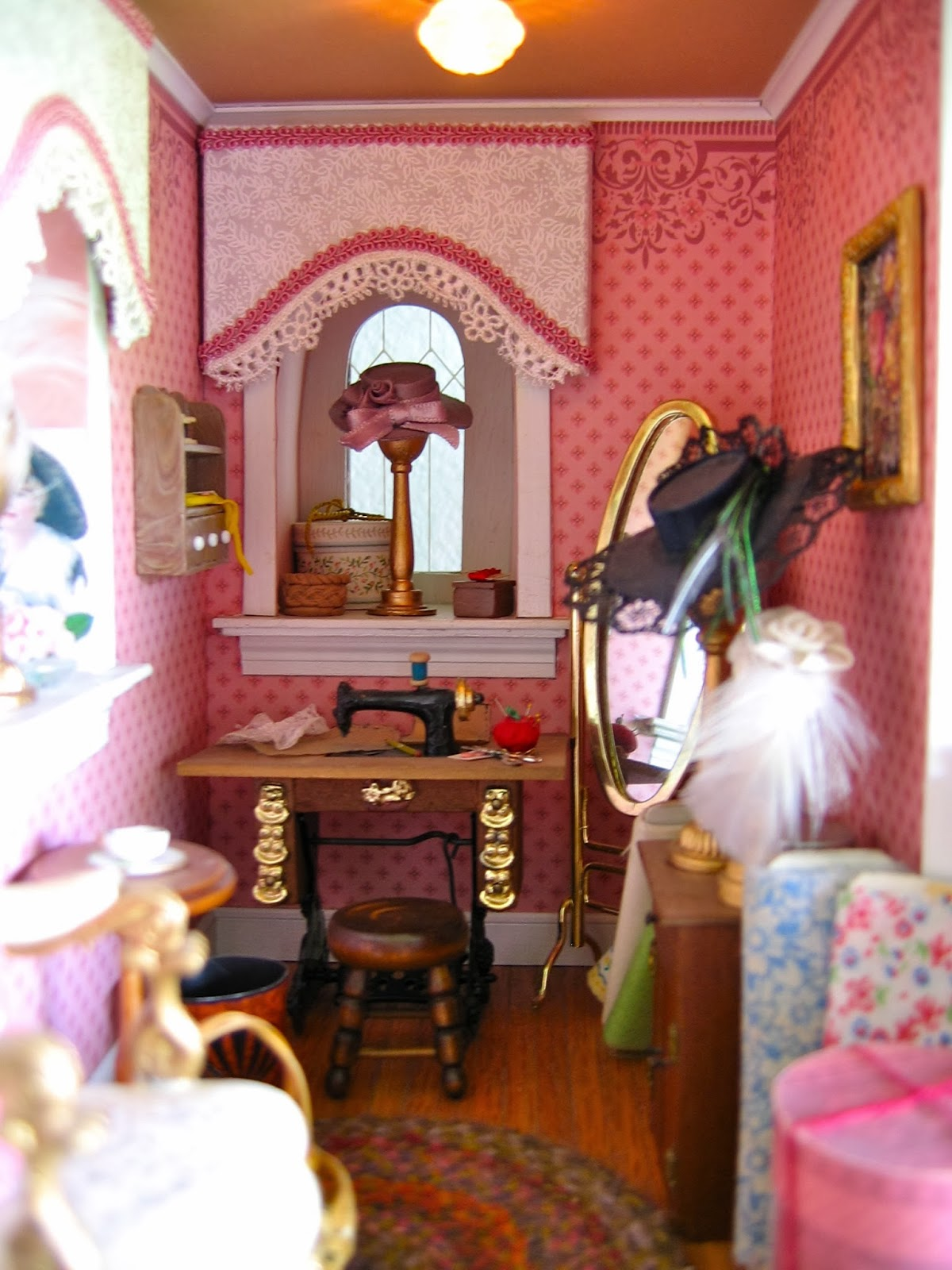 minature sewing room