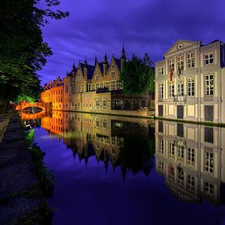 Brügge Channel, Bruges, Belgium