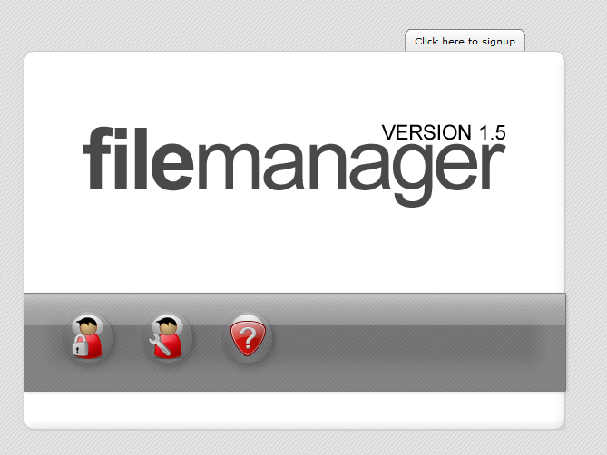 Select the file browser that you would like to use to upload flash movies