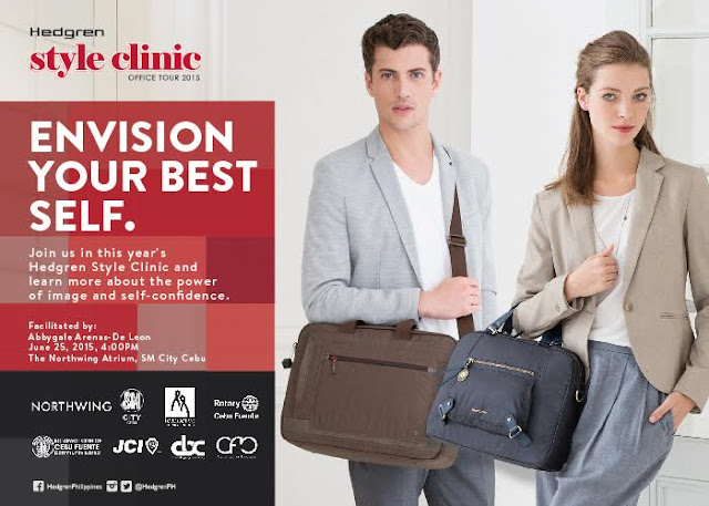 Learn How To Be Your Best Self At Work With This Year'S Hedgren Style Clinic In SM City Cebu
