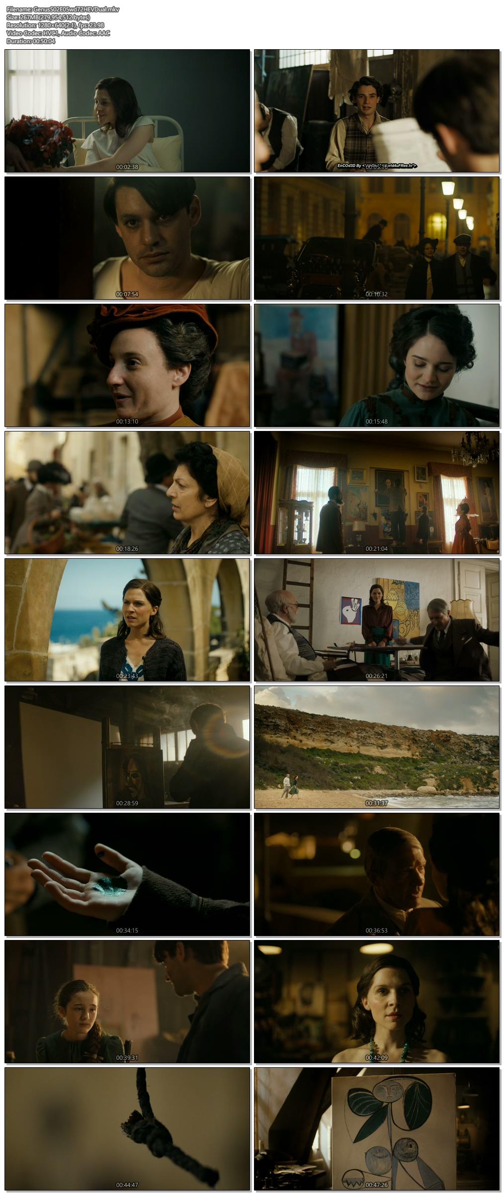 Screenshots Of Hindi Dubbed Show Genius 2018 S02E05 300MB 720P HD