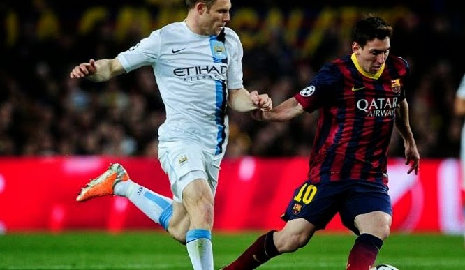 Preview Barcelona vs Man City