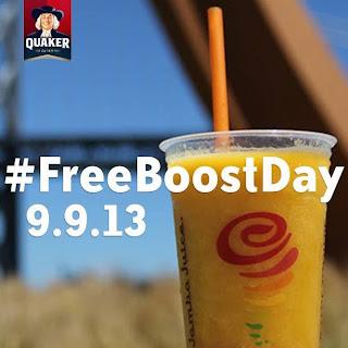 Jamba Juice Free Boost Day