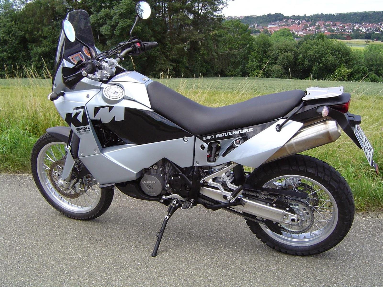 KTM 950 Adventure White Bikes Images