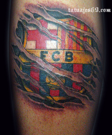 Tatuajes Futboleros pisando charcos: tatuajes