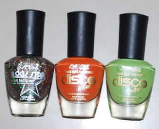L.A. Girl Nail Polishes (three)