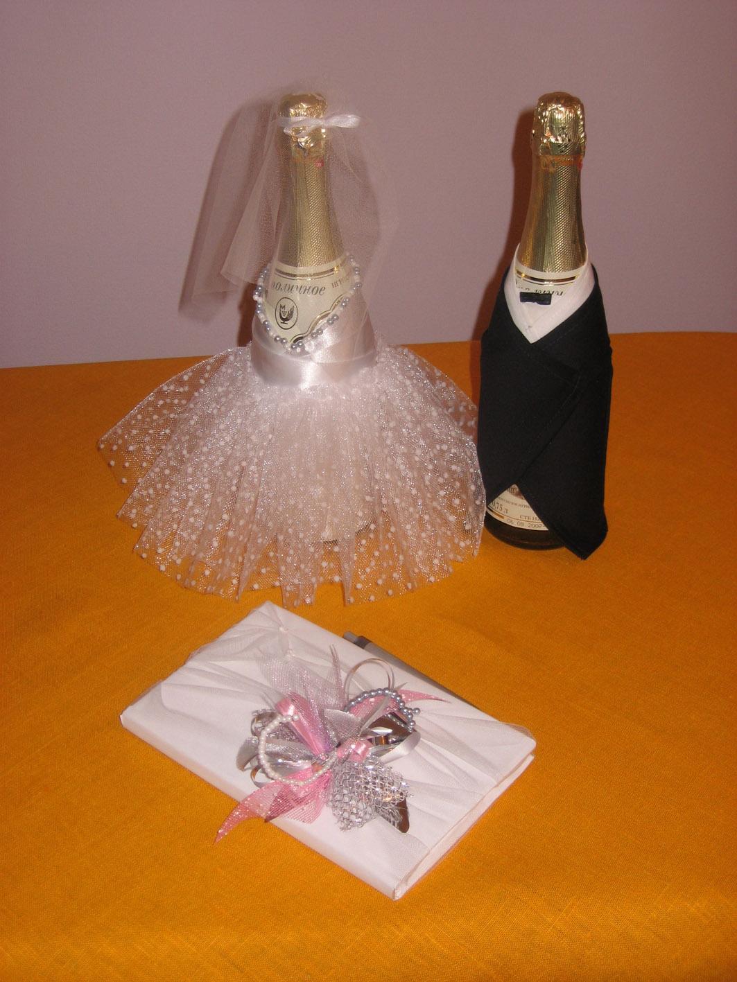 Свадебная бутылка-жених » Сделай сам своими руками 77