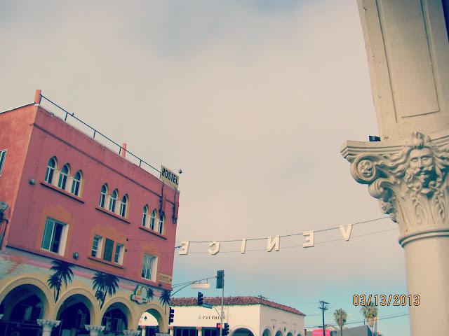 Venice Beach-- Sign