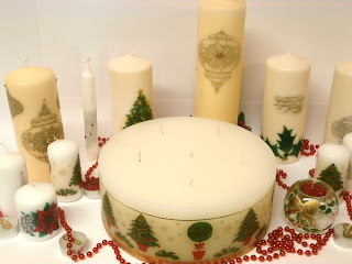 Cake Design Ulm : Faeries in my Garden: Christmas wreaths, candles and ...