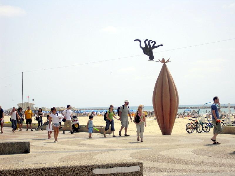 plages israel, TRUMPELDOR  beach, plage tel aviv