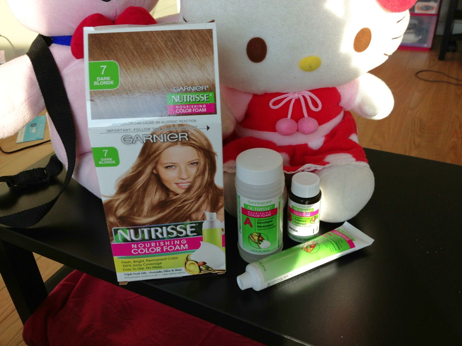Counting Sheepy Quick Review Garnier Nutrisse Color Foam Dye