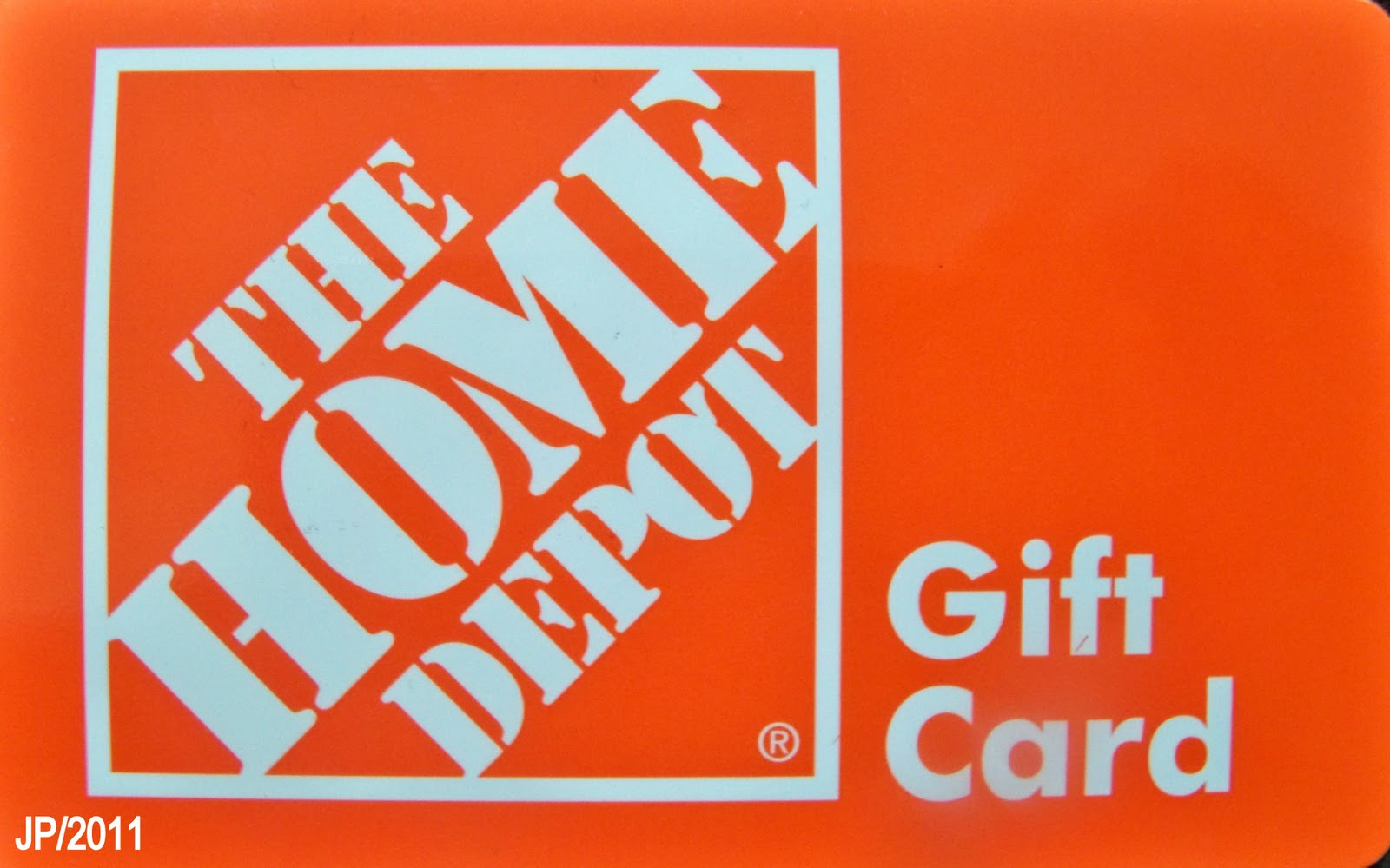 HOME DEPOT Gift Card The Home Depot Building Materials Improvement Warehouse Store Moultrie Georgia