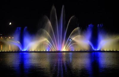 самый большой в Европе фонтан