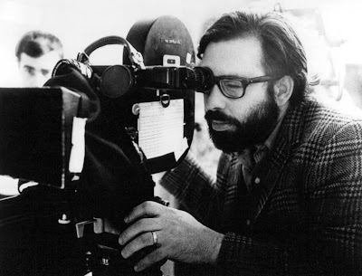 American filmmaker, multiple Oscar winning director, Francis Ford Coppola, director of masterpieces like The Godfather Trilogy, The Conversation, Apocalypse Now, etc.