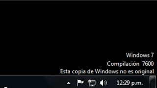 Como arreglar Windows 7 cuando es detectado como pirata