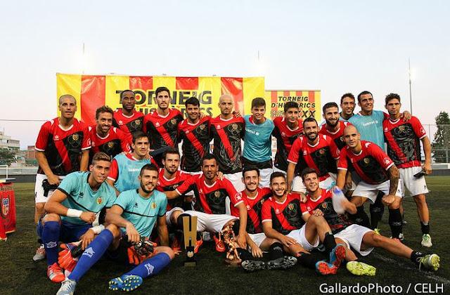 hospitalet torneig d'historics del futbol catala