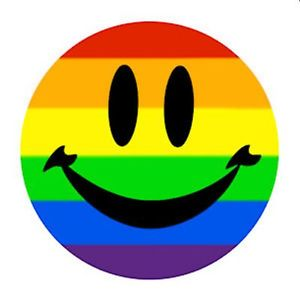 smile you're in the rainbow