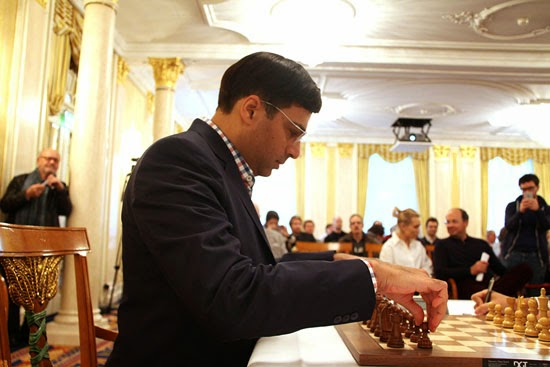 Echecs : Vishy Anand © Chess & Strategy