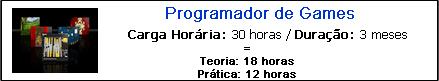 PROGRAMADOR DE GAMES
